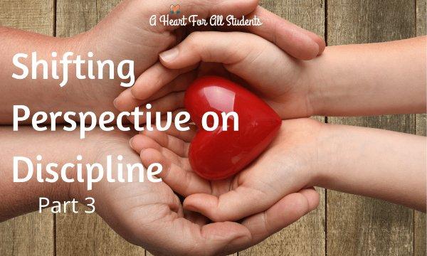 Discipline Perspective Shift