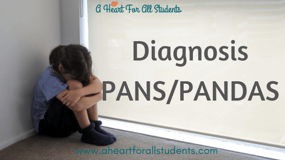 Diagnosis: PANS/PANDAS