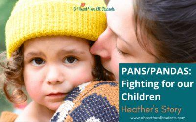 PANS/PANDAS Symptoms