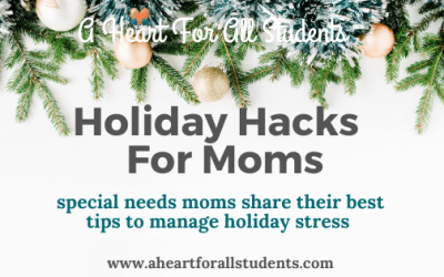 Special Needs Holiday Stress: 15 Tips For 2020