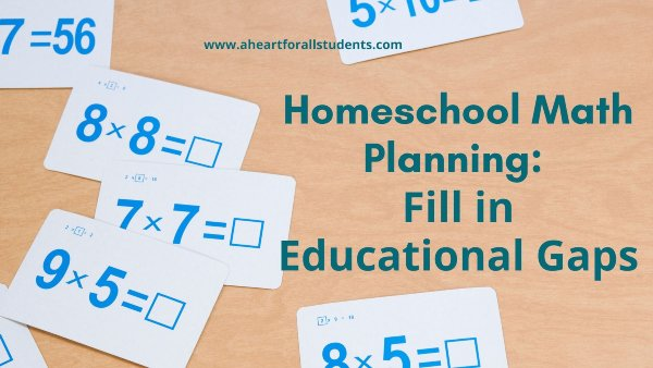 Homeschool Math Planning – Part 1