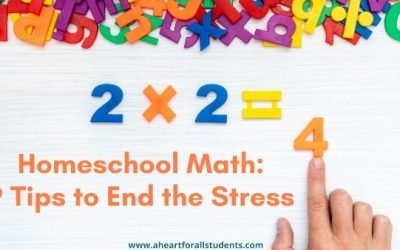 AHEART #8 Homeschool Math Planning – Part 2