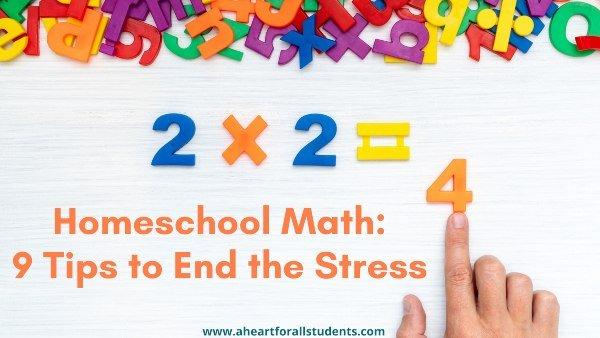 Homeschool Math Planning