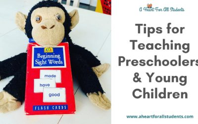 Tips for Teaching Preschoolers