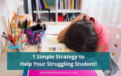 The Struggling Student & Visual Clutter