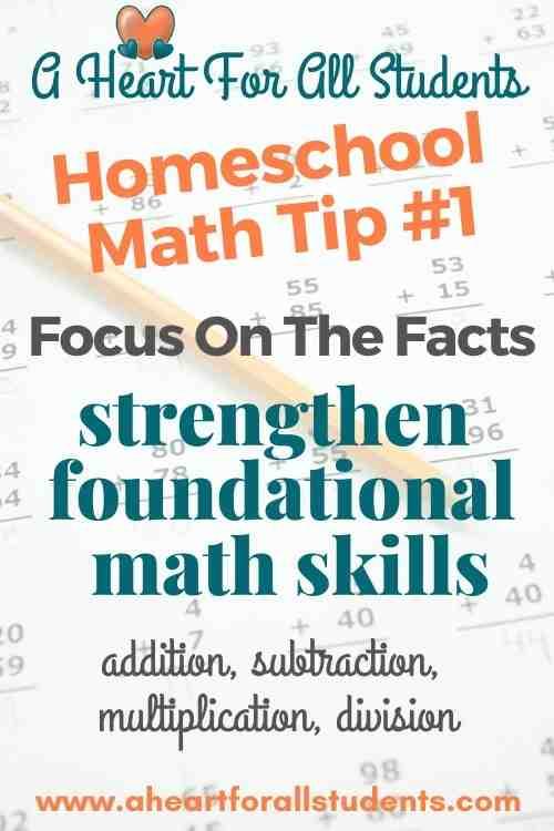 how to teach homeschool math
