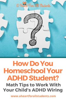 Homeschool Math Planning Activities