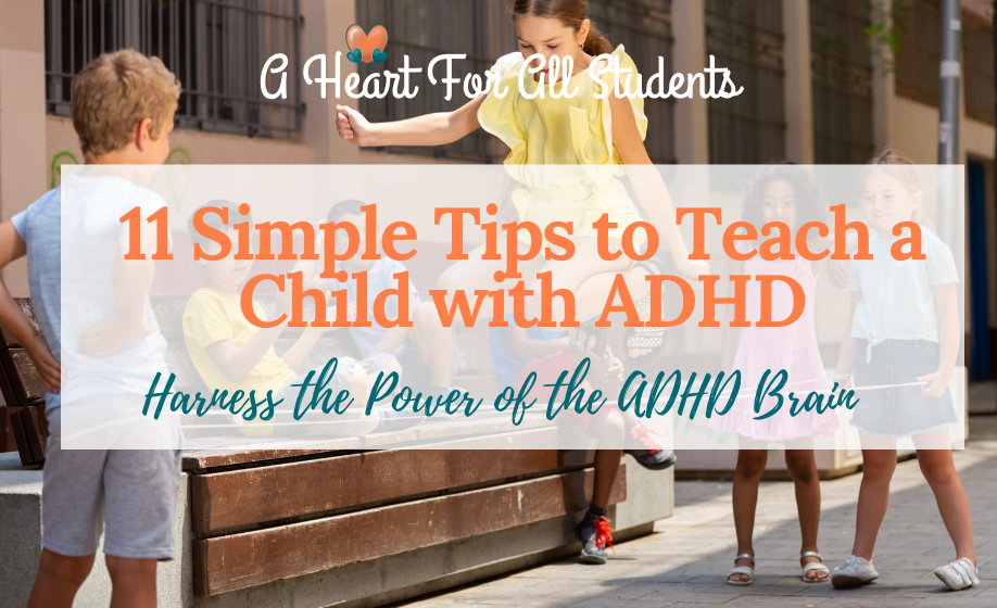 Teaching A Child With ADHD: Homeschool Help