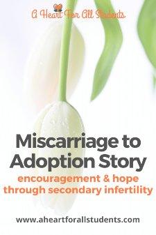 Miscarriage To Adoption