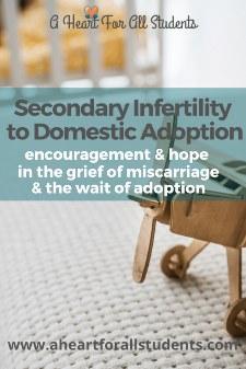 Secondary Infertility To Adoption