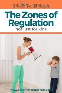 zones of regulation, adhd, autism, spd, special needs moms