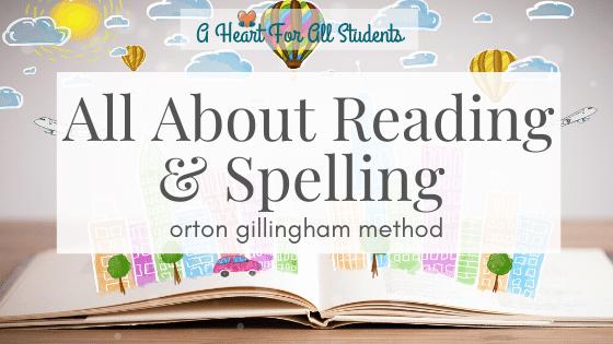Orton Gillingham Method For Struggling Readers