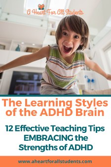 Learning Styles Of A Child With ADHD