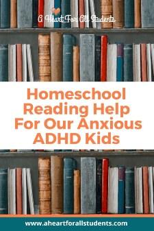Homeschool Reading Help For Sturggling Readers