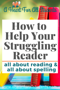 all about reading, all about spelling