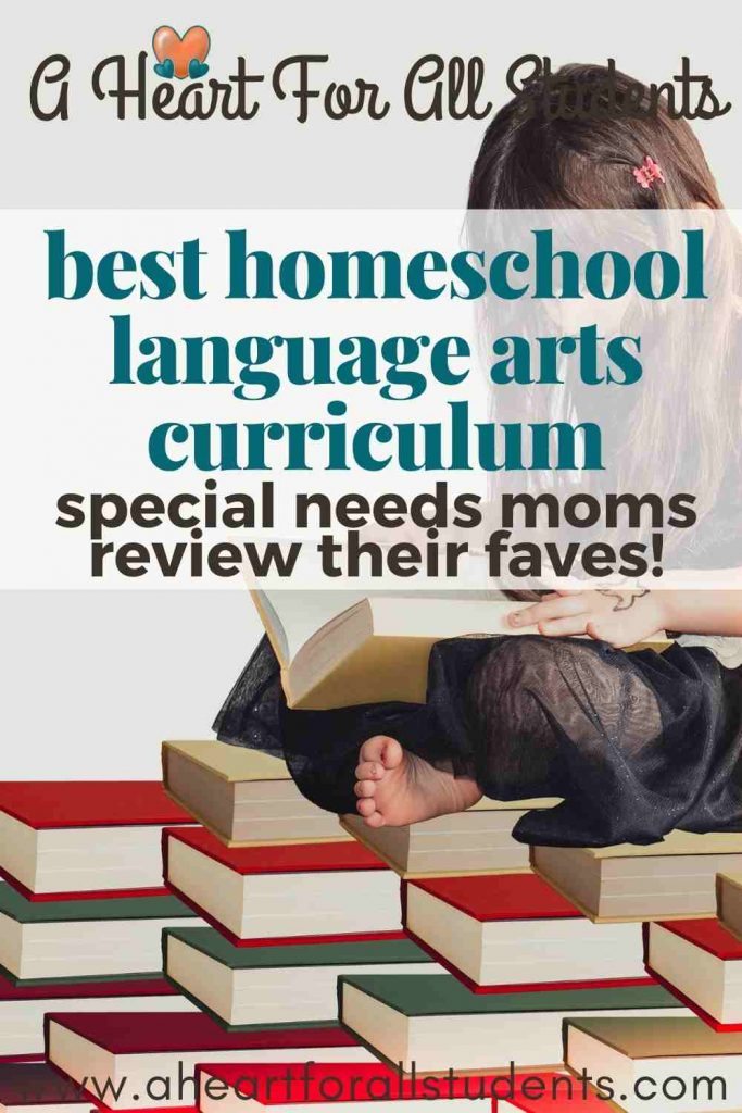 homeschool language arts curriculum reviews for special needs