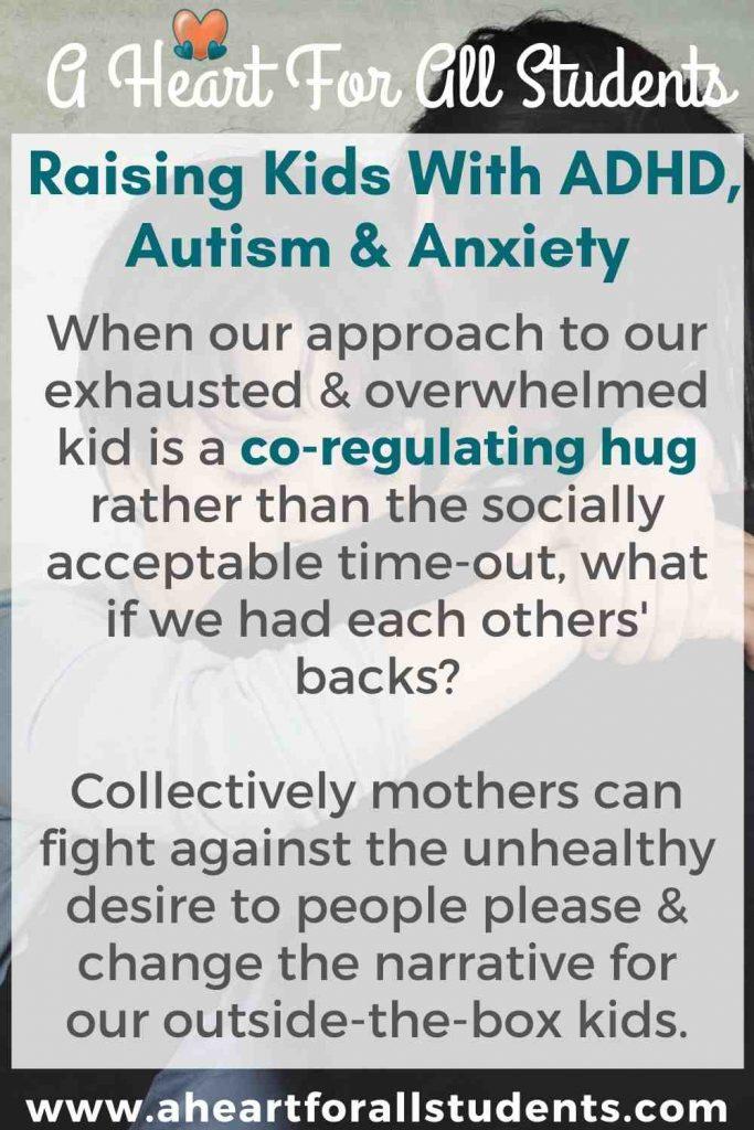 christian moms raising adhd, autism
