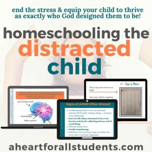 homeschooling adhd kids, homeschool parent training