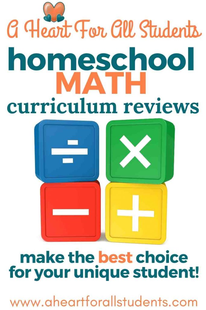 best homeschool math curriculum for struggling students