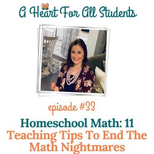 homeschool math teaching tips and strategies for adhd kids, learning differences