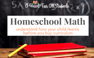 How to Choose the Best Homeschool Math Curriculum