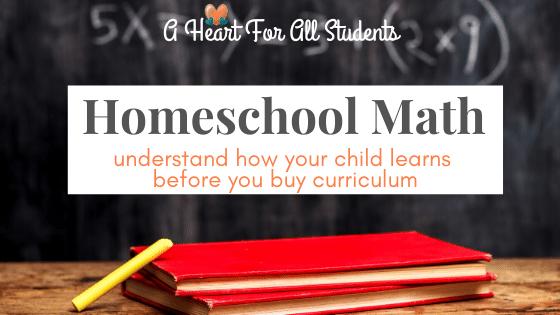 How to Choose the Best Homeschool Math Curriculum