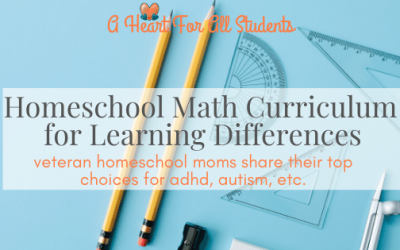 Best Homeschool Math For Struggling Students