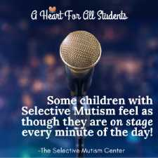 Selective Mutism Support Tips