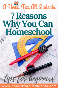 Why You Can Homeschool