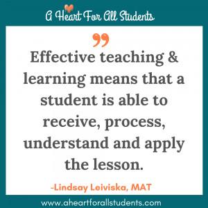 Effective Teaching For Homeschooling