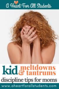 Kid Meltdowns And Tantrums