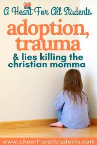 Calm A Child Meltdown - Adoption Trauma