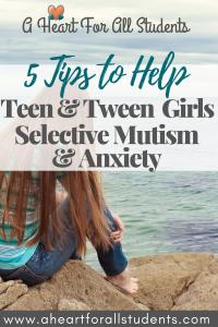 selective mutism in teen girls