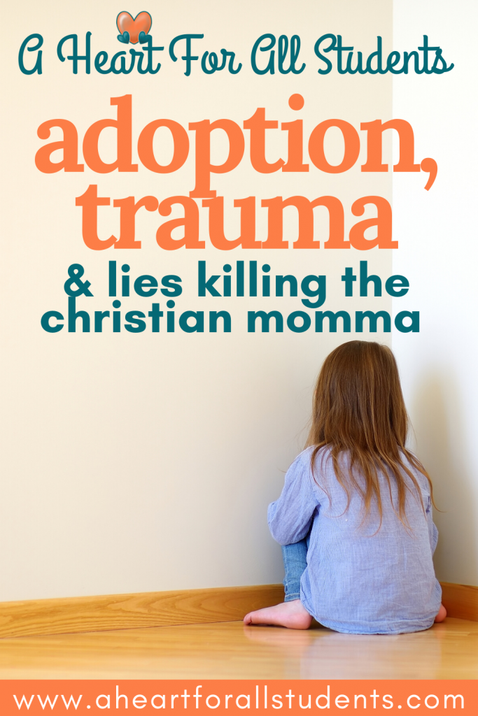 adoption, trauma, christian mom