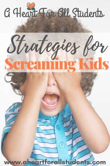 Strategies For Screaming Children