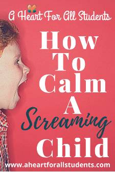 How To Calm A Screaming Child