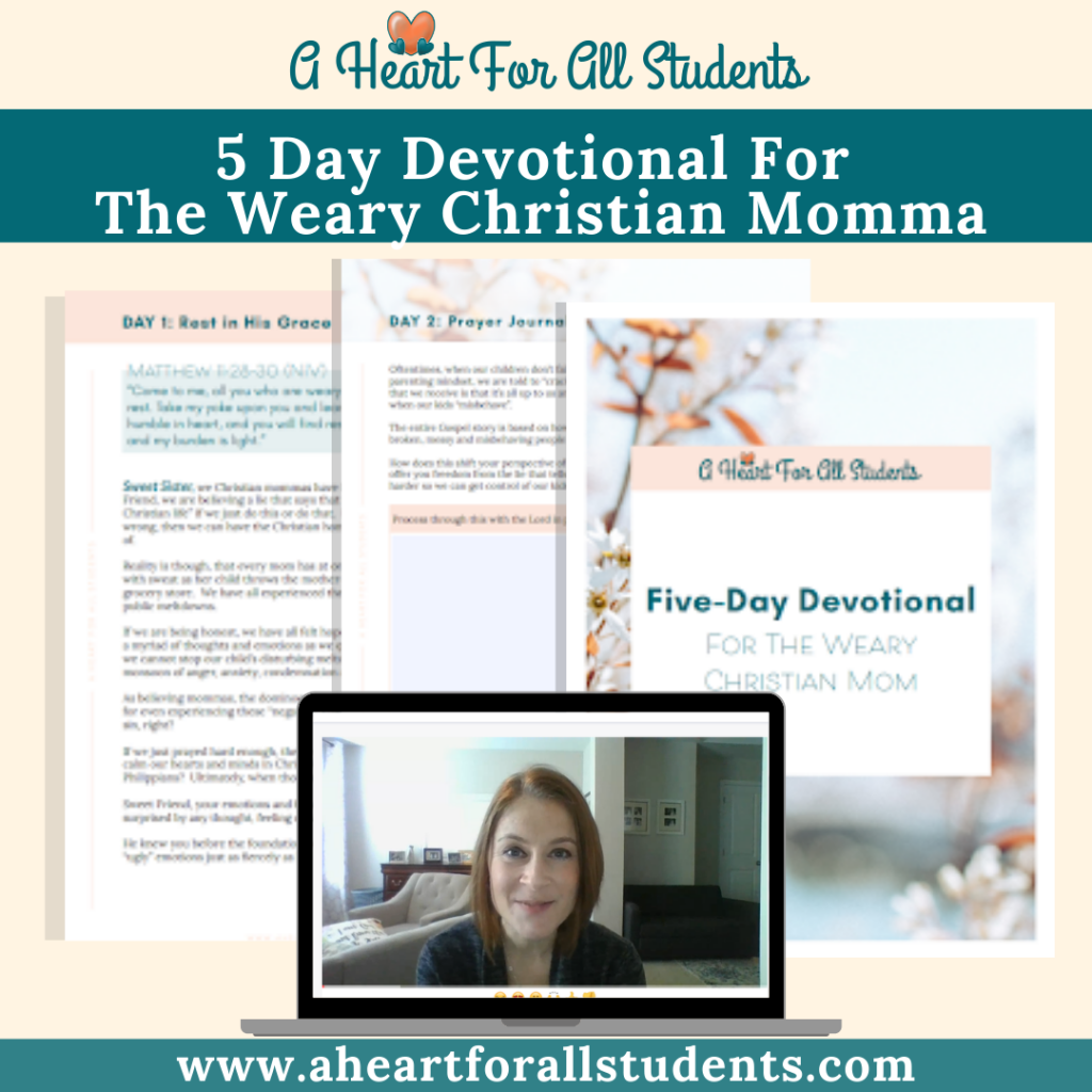 devotional bible study special needs moms