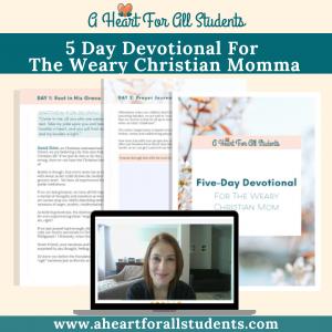 devotional bible study special needs moms