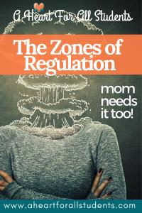 zones of regulation chart, emotional regulation, christian mom