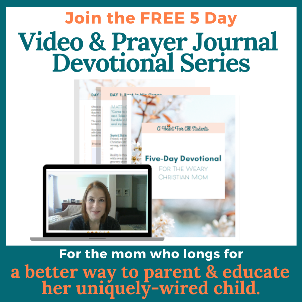 Devotional Christian Special Needs Mom