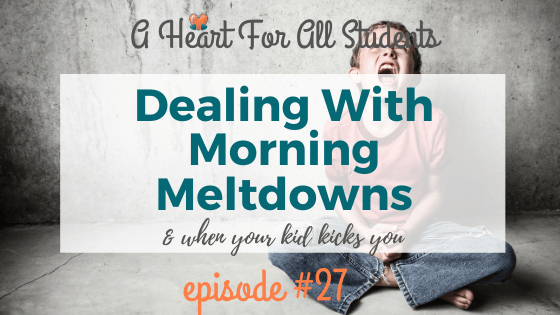 dealing with morning tantrums
