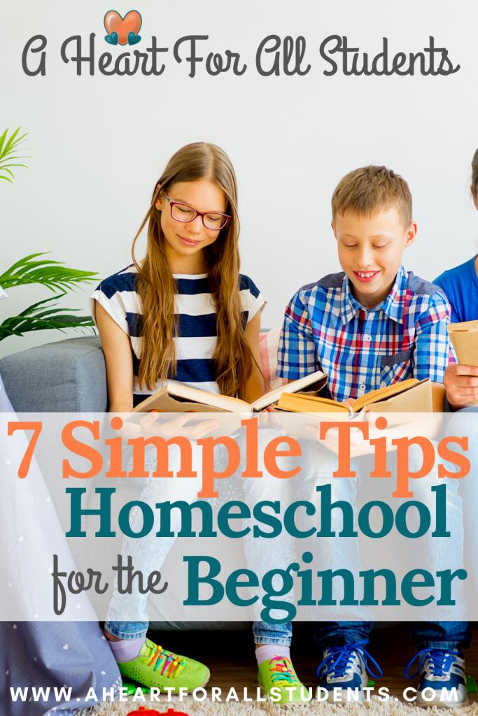 homeschool tips for new homeschooler