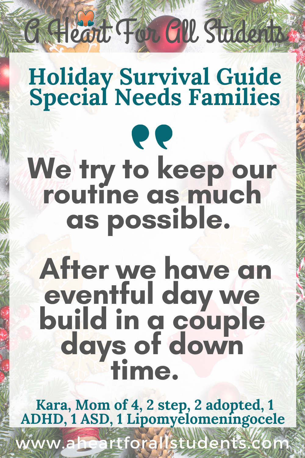 special needs holiday stress management, special needs moms, adhd, autism, sensory processing disorder
