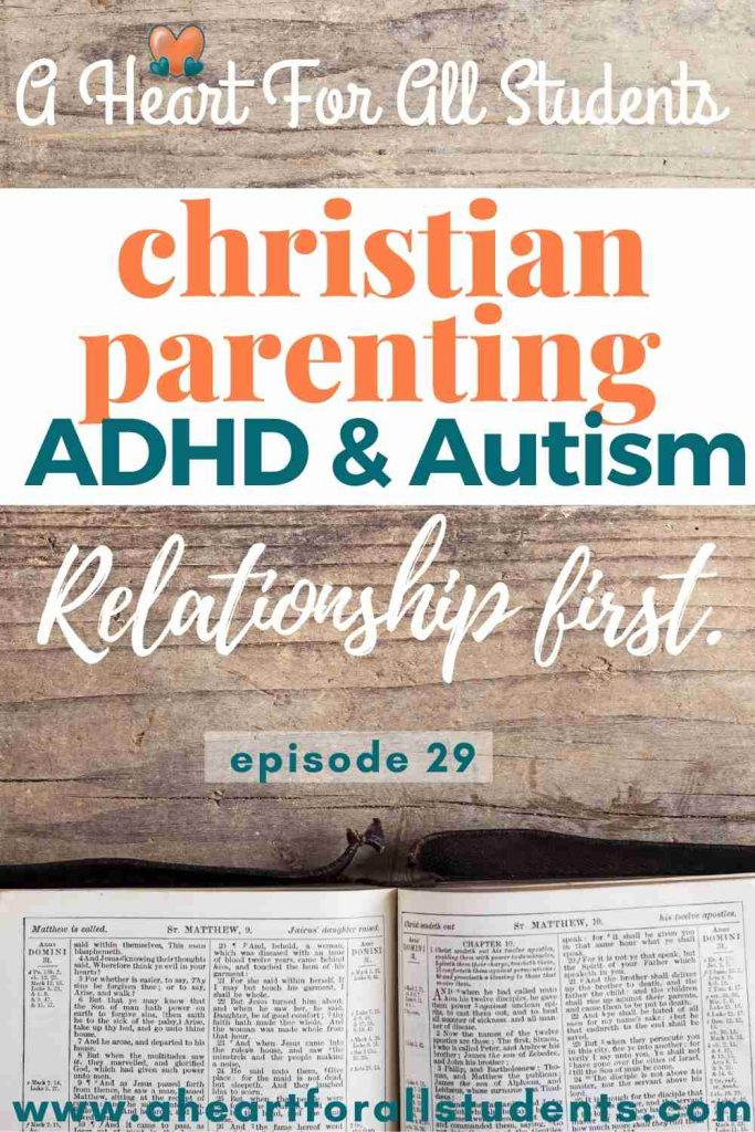 how should a christian discipline adhd
