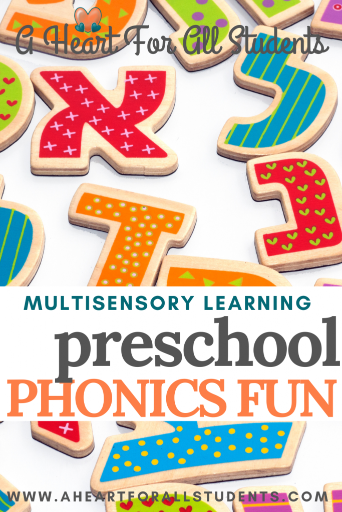 preschool phonics activities