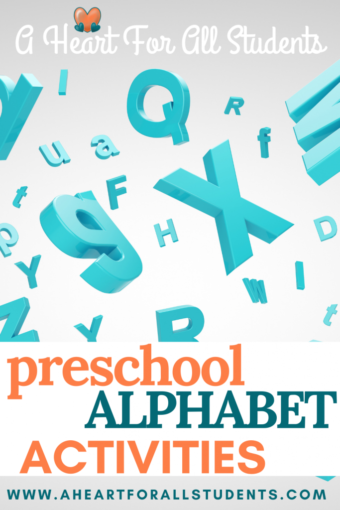 preschool alphabet and phonics fun activities