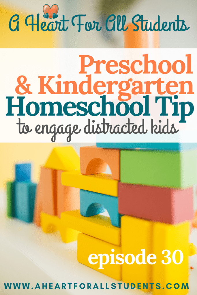 kindergarten & preschool teaching ideas, play-based learning, homeschool, adhd