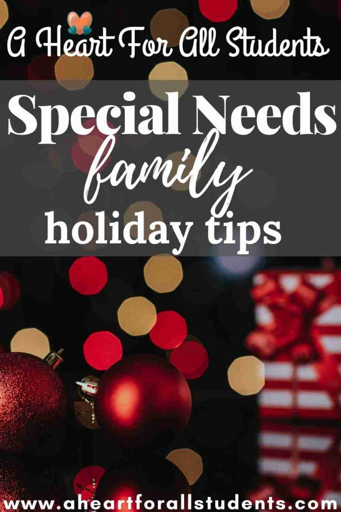 special needs mom holiday survival guide