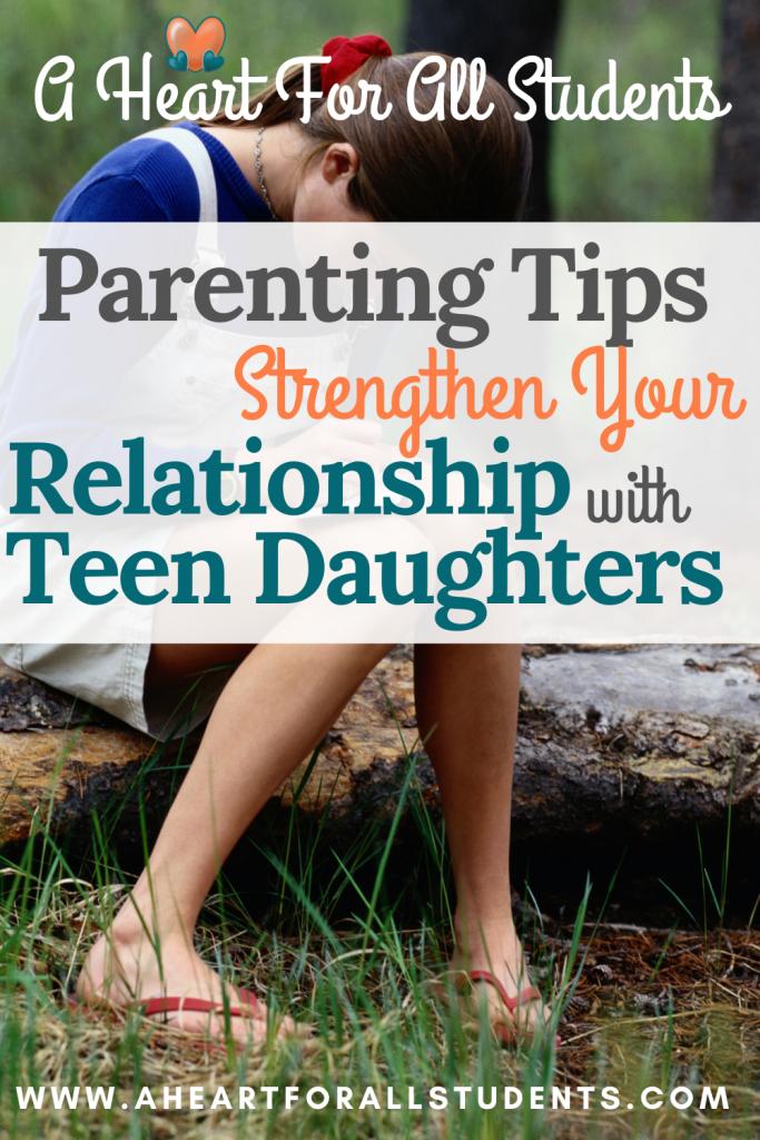 Raising teen girls.  Parent & discipline strategies to deepen your relationship.