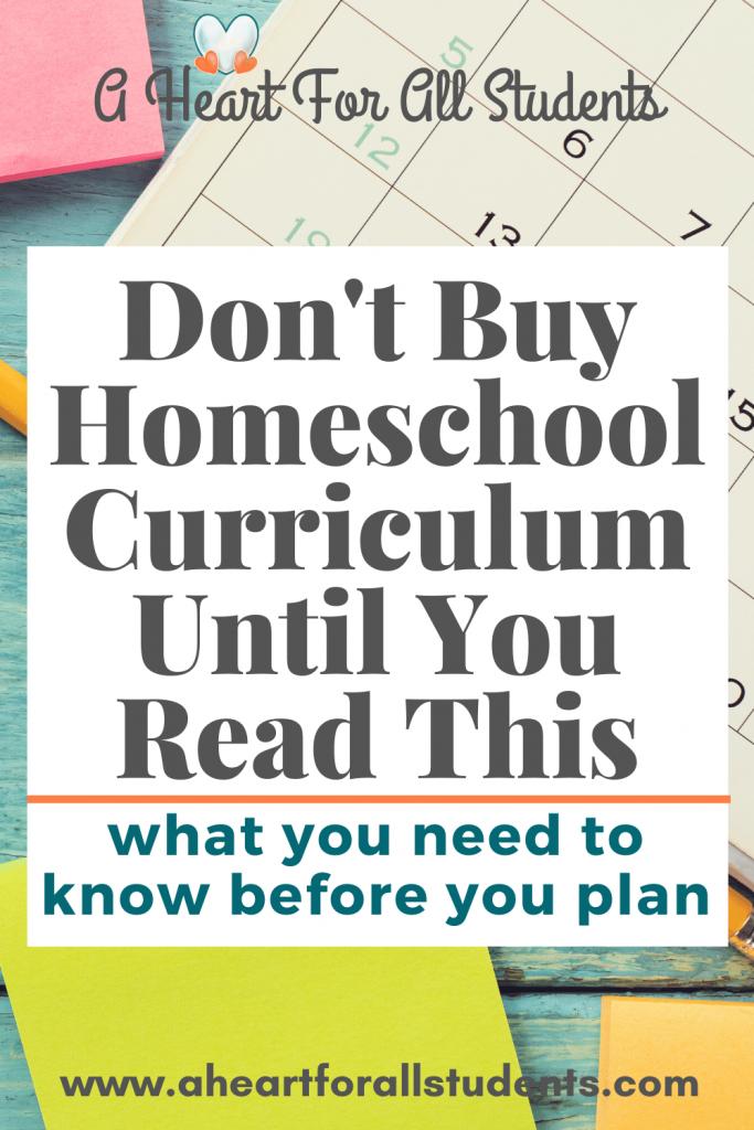 best homeschool math curriculum for struggling students